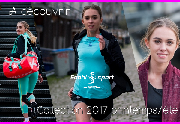 Collection 2017 running pour femme.