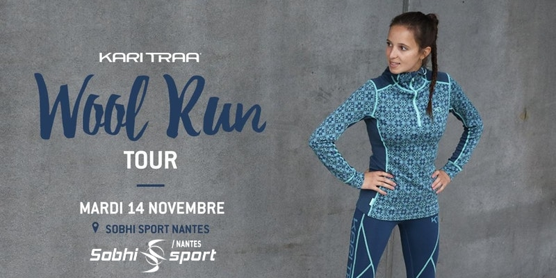 Kari Traa Wool Run Tour