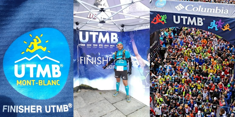 Ludo Jamin finisher UTMB 2018 !