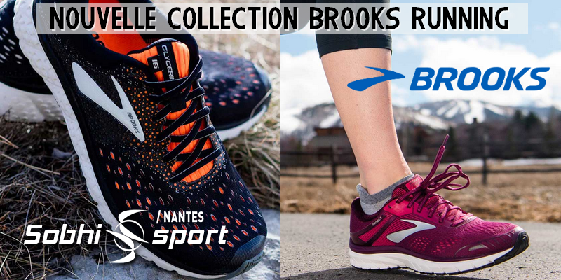 Nouvelle collection brooks running