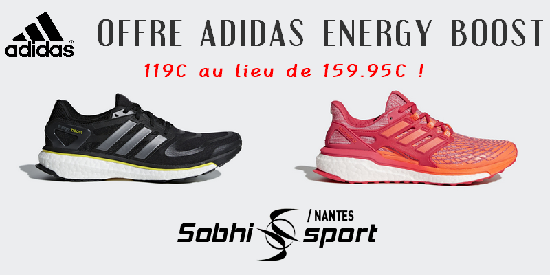 Offre Adidas Energy Boost