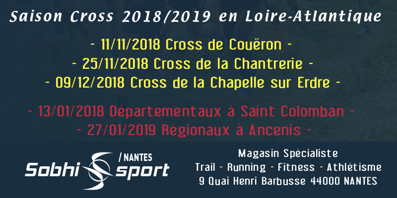 Saison cross 2018-2019